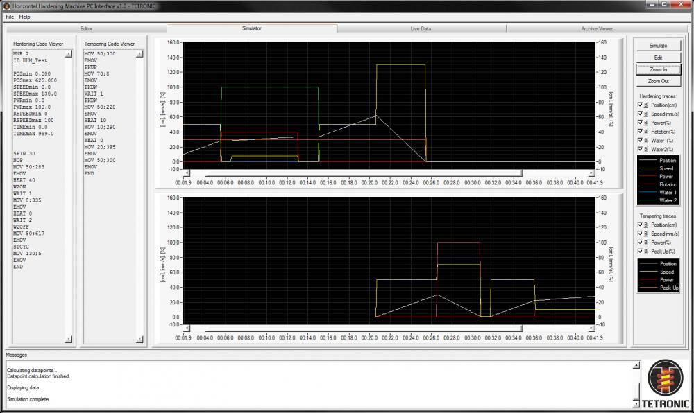 05 HHM PC Interface Simulator Example